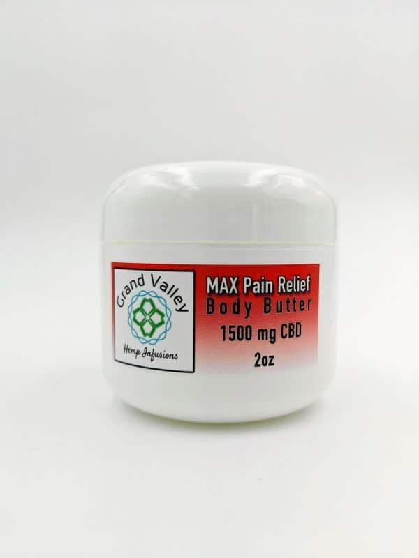body butter 1500 mg cbd