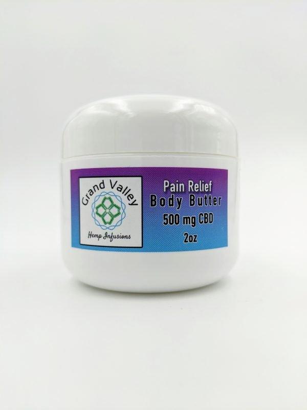 body butter 500 mg cbd