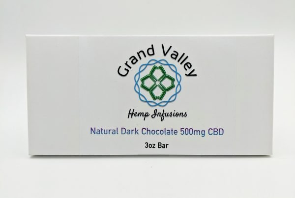 CBD Dark Chocolate Package
